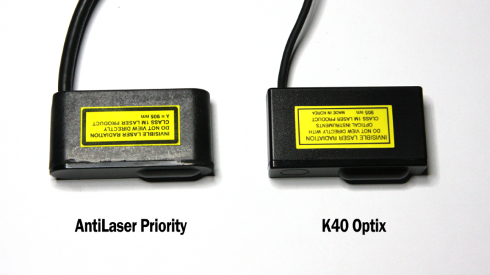 K40 vs ALP Head side by side