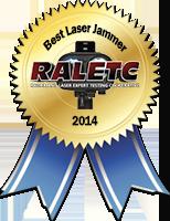 RALETC Best Laser Jammer 2014 Award