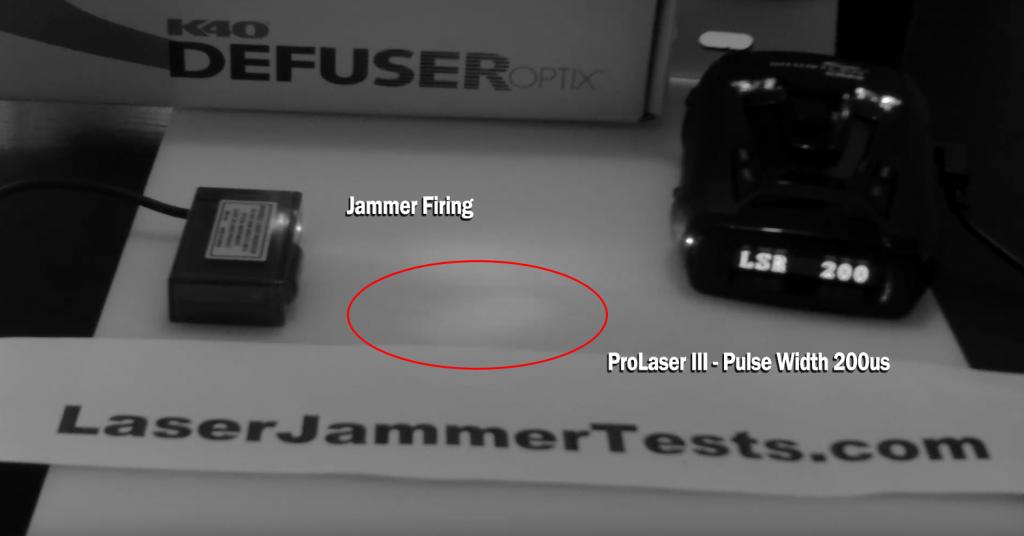 ProLaser III Gun Output